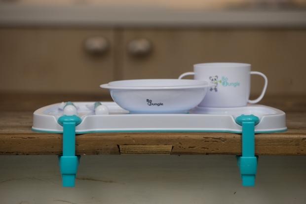 vajilla con pinzas para fijar Dinner tray setsfeer de bob jungle. Elmundodelbebe.org